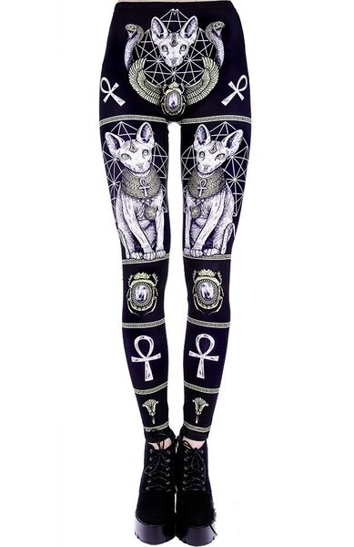 """EGYPTIAN SPHINX"" Leggings – Bild 2"