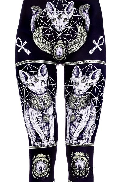 """EGYPTIAN SPHINX"" Leggings – Bild 3"