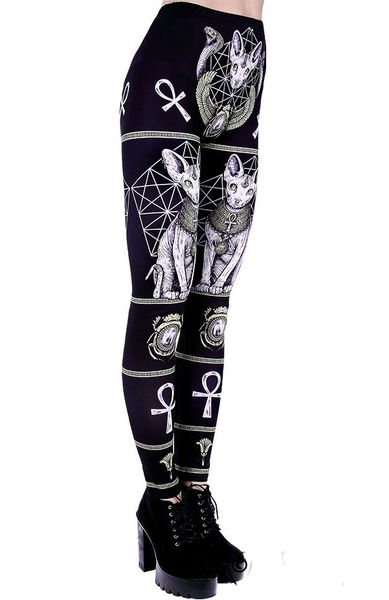 """EGYPTIAN SPHINX"" Leggings – Bild 6"