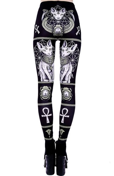 """EGYPTIAN SPHINX"" Leggings – Bild 9"