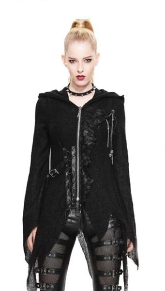 Lace and Buckle Hoodie – Bild 1