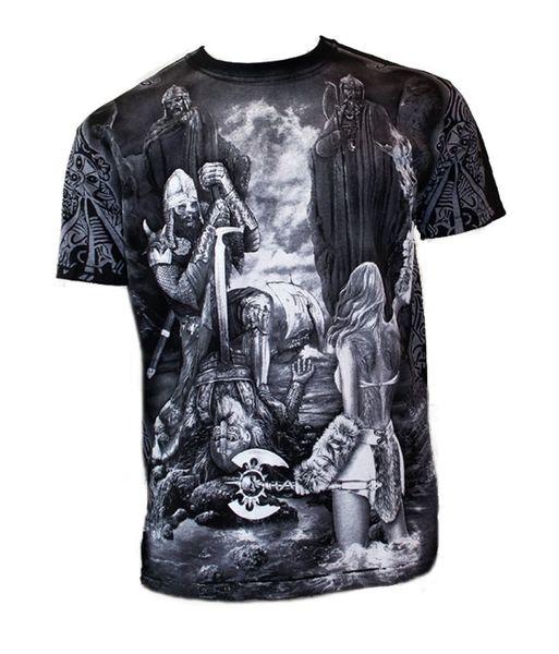 T-Shirt Gates to Valhöll – Bild 2