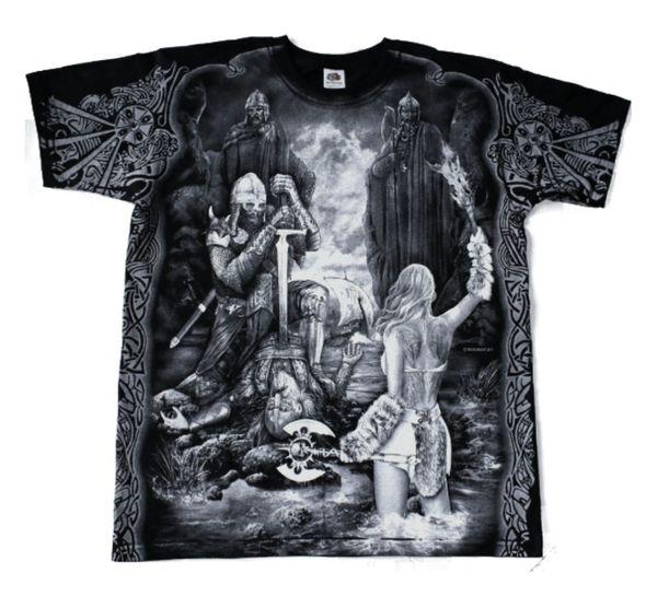 T-Shirt Gates to Valhöll – Bild 1
