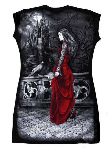 Shirt - Tunika Lady Raven – Bild 2