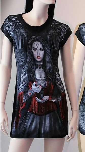Shirt - Tunika Lady Raven – Bild 3