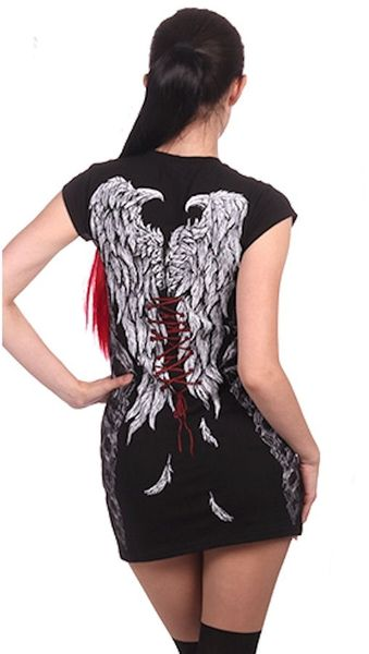 Longshirt Kobra Angel Dress – Bild 2