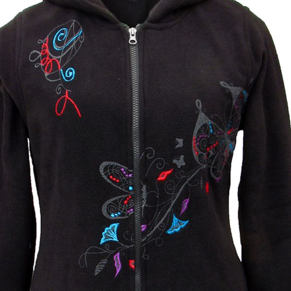 Mantel Black Butterfly Coat – Bild 2