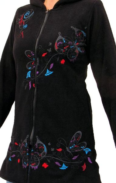 Mantel Black Butterfly Coat – Bild 4