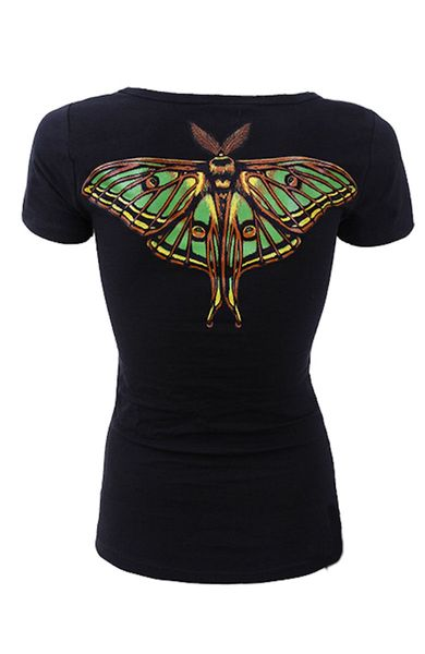 T Shirt Moon Moth – Bild 2