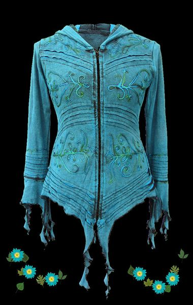 Jacke Elvish Embroidery Jacket – Bild 3