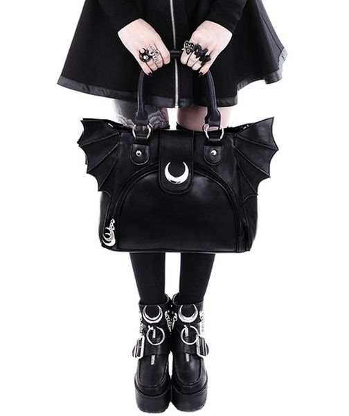 Tasche Bat  Wings Moon Bag – Bild 2