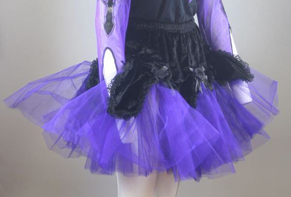 Rock Purple Fluffy Skirt – Bild 1