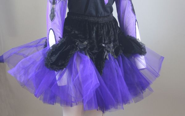 Rock Purple Fluffy Skirt – Bild 4