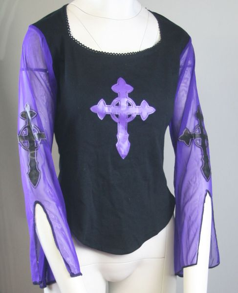 Top Goth Cross – Bild 2