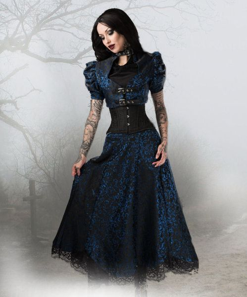 Rock Saphir Blue Skirt