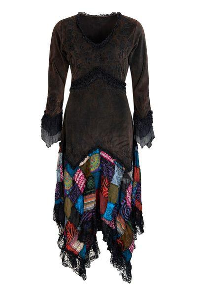 Kleid Elvish Velvet Dress – Bild 6
