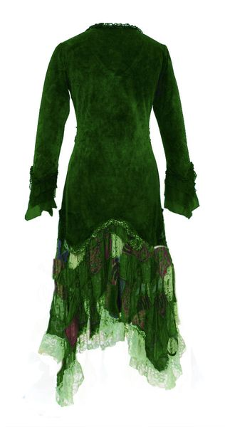 Kleid Elvish Velvet Dress – Bild 5