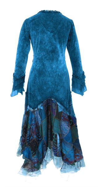 Kleid Elvish Velvet Dress – Bild 4