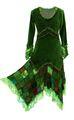 Kleid Elvish Velvet Dress 001