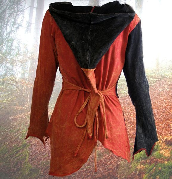 Top 2-Color-Witchy Hoodie – Bild 7
