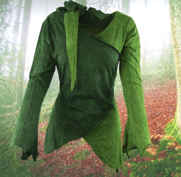 Top 2-Color-Witchy Hoodie – Bild 2