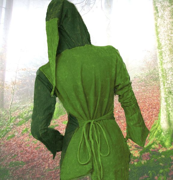 Top 2-Color-Witchy Hoodie – Bild 6