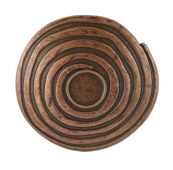 Gürtel keltische Spirale altkupfer – Bild 2