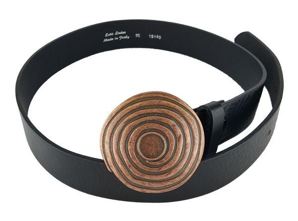 Gürtel keltische Spirale altkupfer – Bild 1