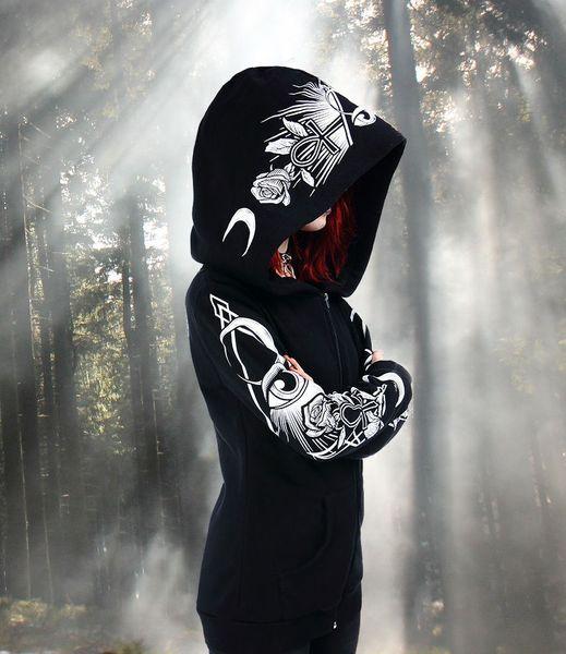 Jacke Hoodie Third Eye – Bild 3