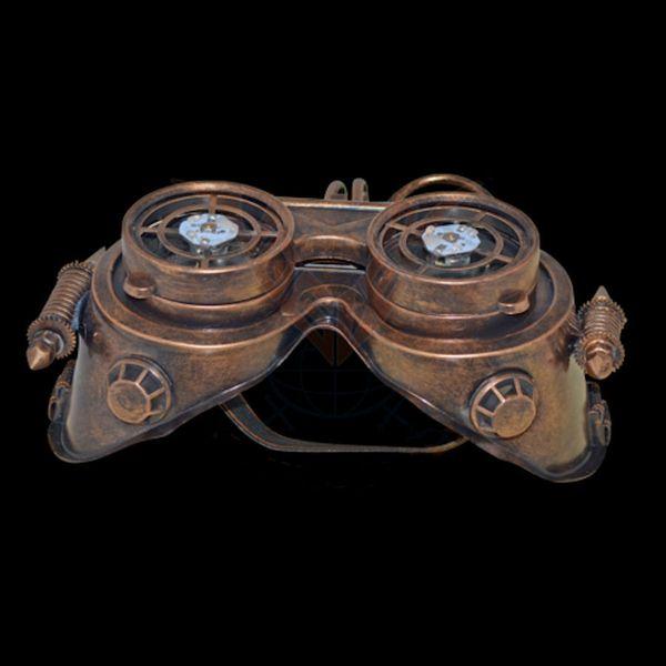 Maske LED Robot-Goggles – Bild 3