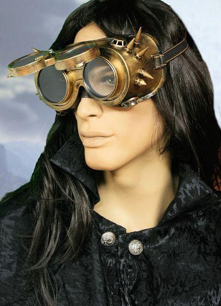 Steampunk Brille Maske