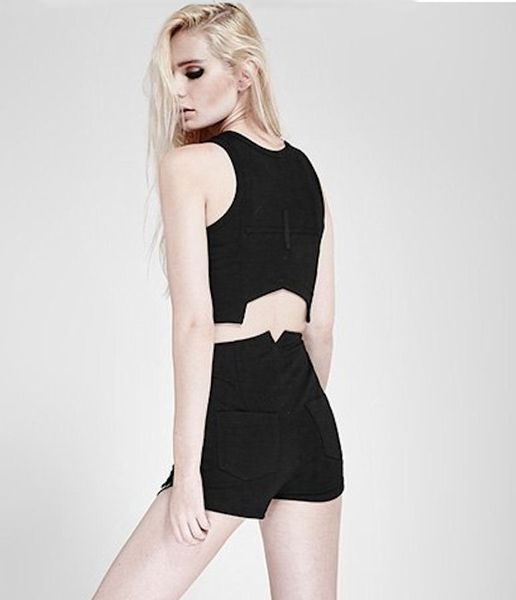 Punk Rave Short Top – Bild 4