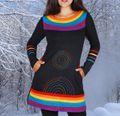 Kleid Rainbow Dress 001