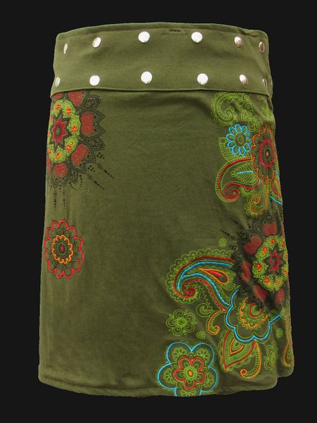 Rock Green Forest Wrap Skirt – Bild 1