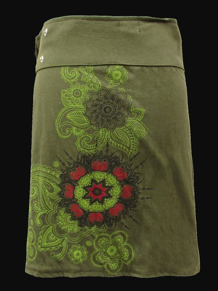 Rock Green Forest Wrap Skirt – Bild 2
