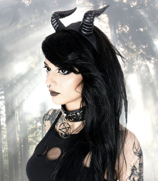 Headband Beleth Devil Horns – Bild 2