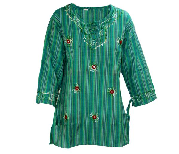 Tunika Embroidery Tunic with Mirrorwork