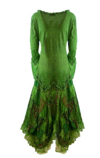 Elvish Cotton Dress – Bild 3
