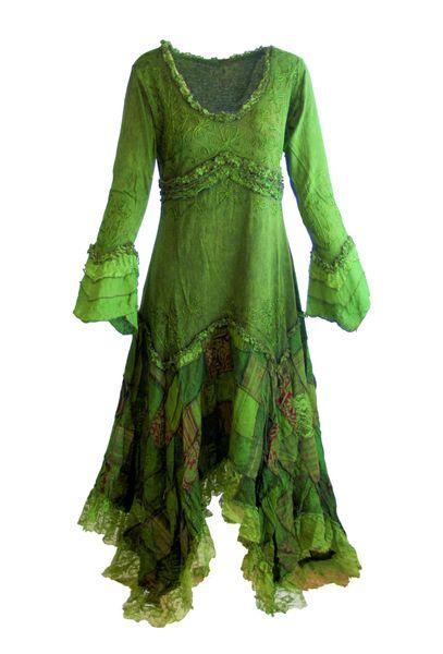 Elvish Cotton Dress – Bild 1