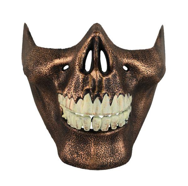 Maske Schädelmund