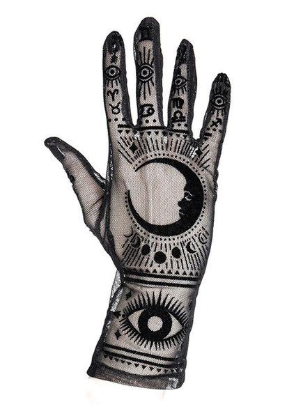 Handschuhe FORTUNE TELLER GLOVES von Restyle – Bild 1