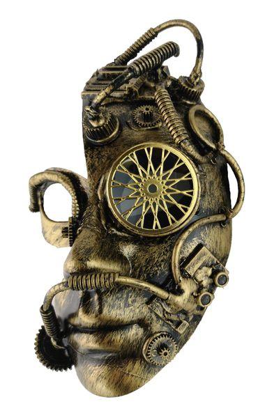 Steampunk Roboter Maske – Bild 2
