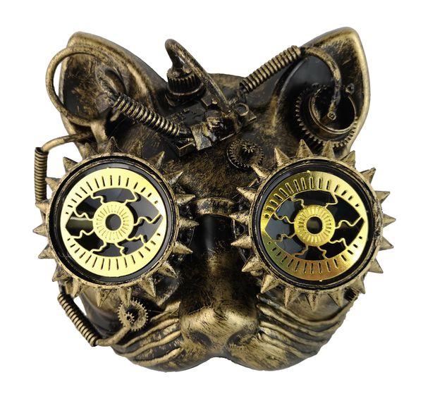Steampunk-Maske Katze – Bild 1