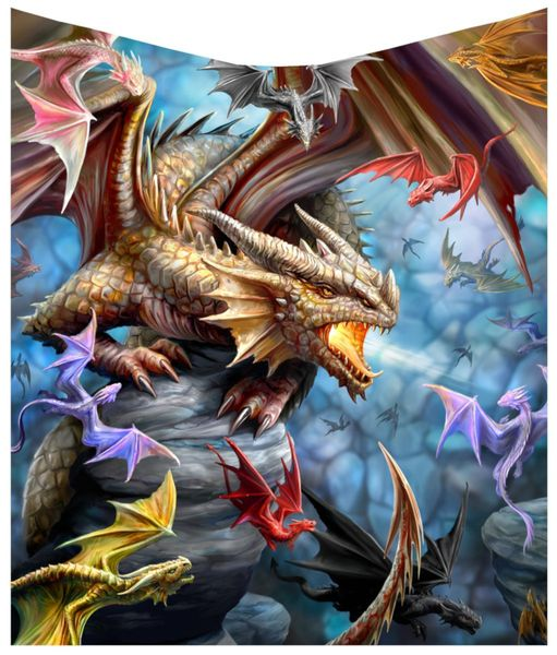 Wohndecke Dragon Clan