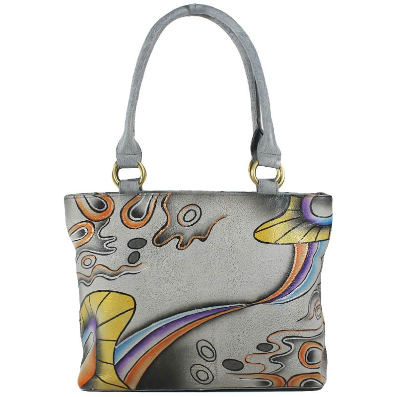 Greenland Art+Craft Leder Handtasche 64-08