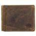 Greenburry Vintage Leder Ausweis Geldbörse Portemonnaie 002