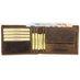 Greenburry Vintage Leder Ausweis Geldbörse Portemonnaie 003