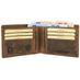 Greenburry Vintage Karten Leder Portemonnaie 1705CC-25 003
