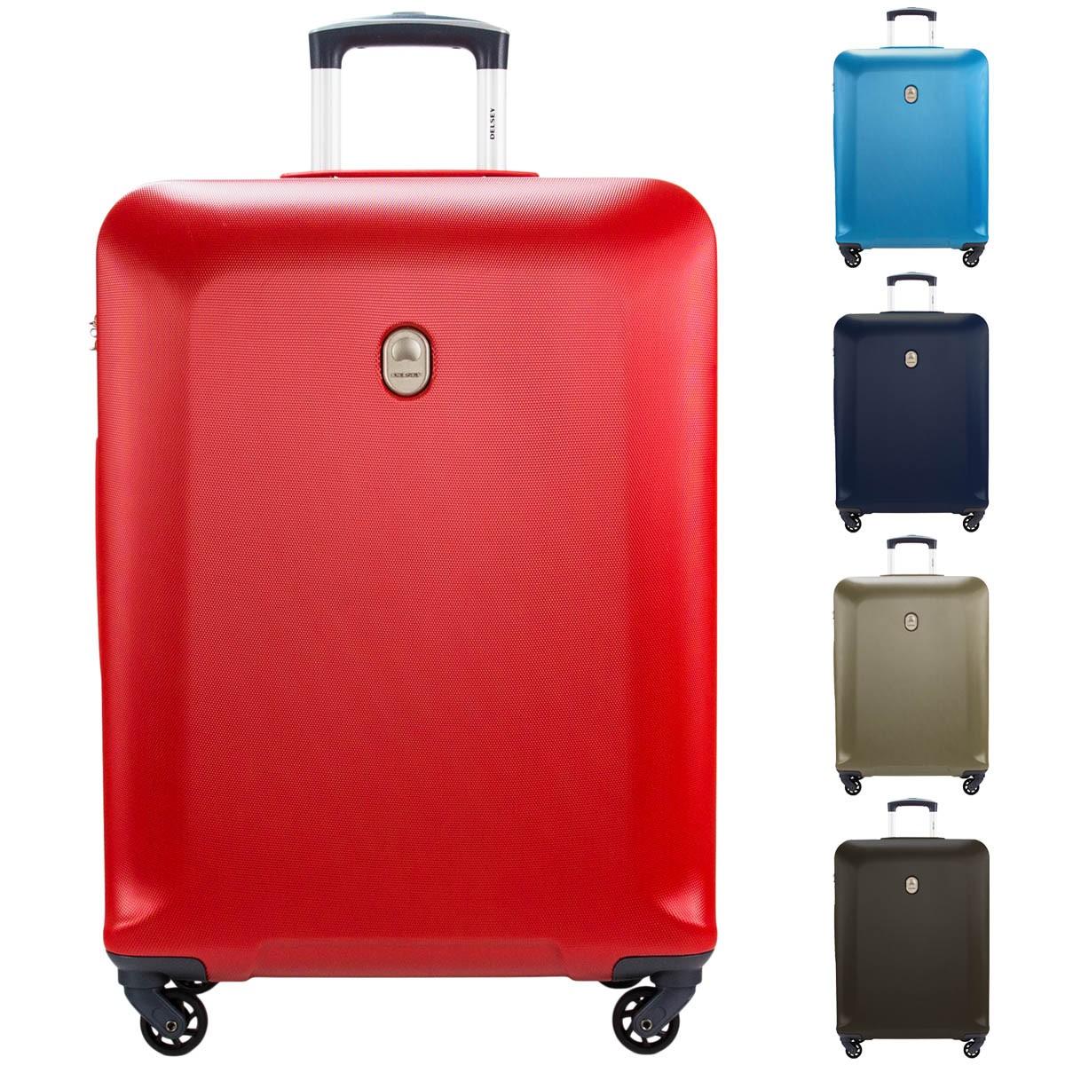 Delsey Biela 4-Rollen Koffer Trolley 66 cm 00 3575810