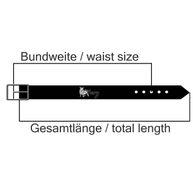 Esprit Damen Leder Gürtel mit Dornschließe Chain Belt 096EA1S006-E001